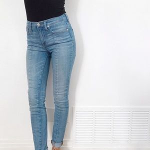 Madewell tall high-rise skinny jeans